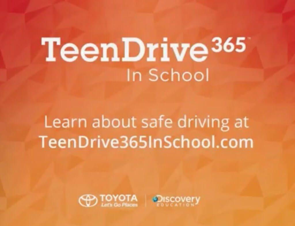 Toyota TeenDrive365 2015 Challenge