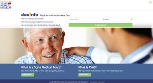 State Medical Board Doctor's License