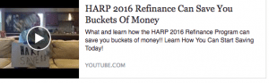 BEST REFINANCE PROGRAM HARP 2016