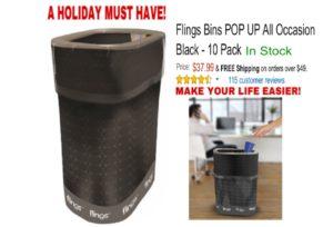 Flings Disposal Trash Cans