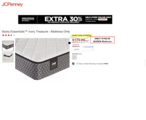 best mattress deal jcpenny