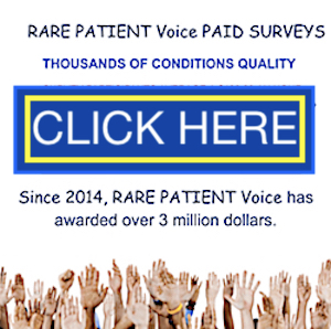 paid surveys with rare patients voice